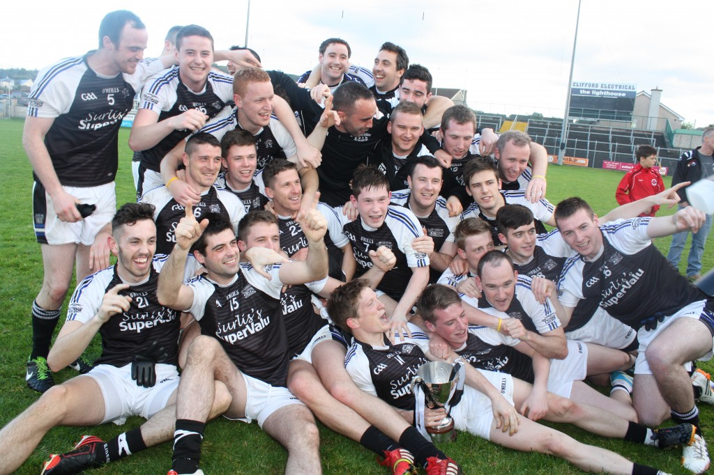 Tubbercurry County Champions 2014