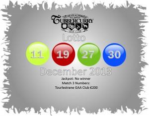 Lotto December 13