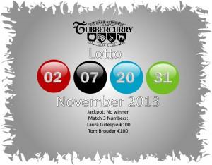 Lotto November 13