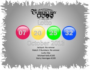 Lotto October 13