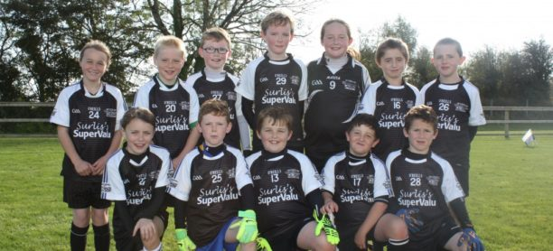 U10 Team plays at Half Time in County Final